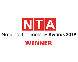 Winner of the UK NTA 'Healthcare Technology of the Year' award