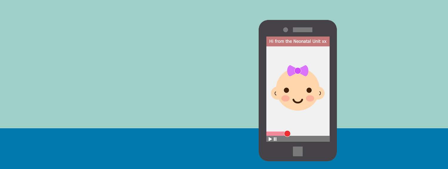 Secure Video Messaging to minimise separation anxiety in parents with babies in Neonatal Units