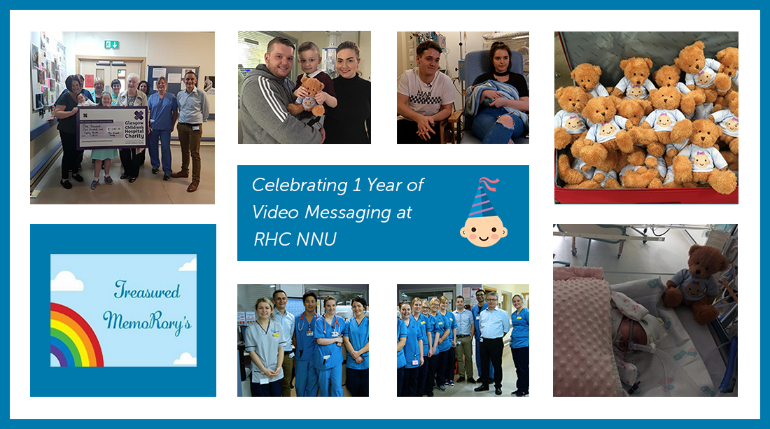 The Neonatal Unit at the Royal Hospital for Children, Glasgow, Celebrates One Year of Video Messaging