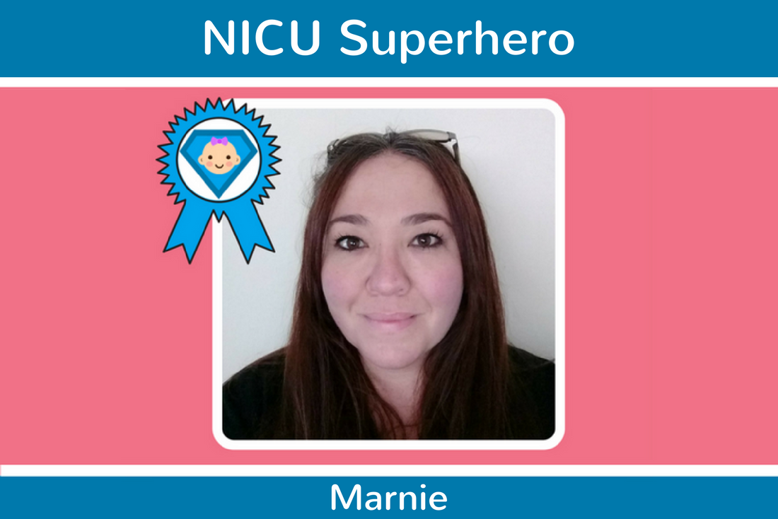 Congratulations to our latest NICU Superhero, Marnie!