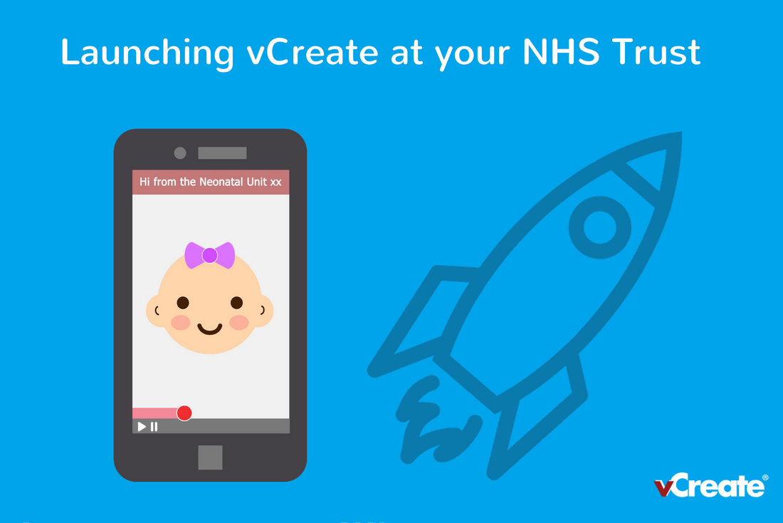 Launching vCreate at your NHS Trust, a PR and Communications Toolkit
