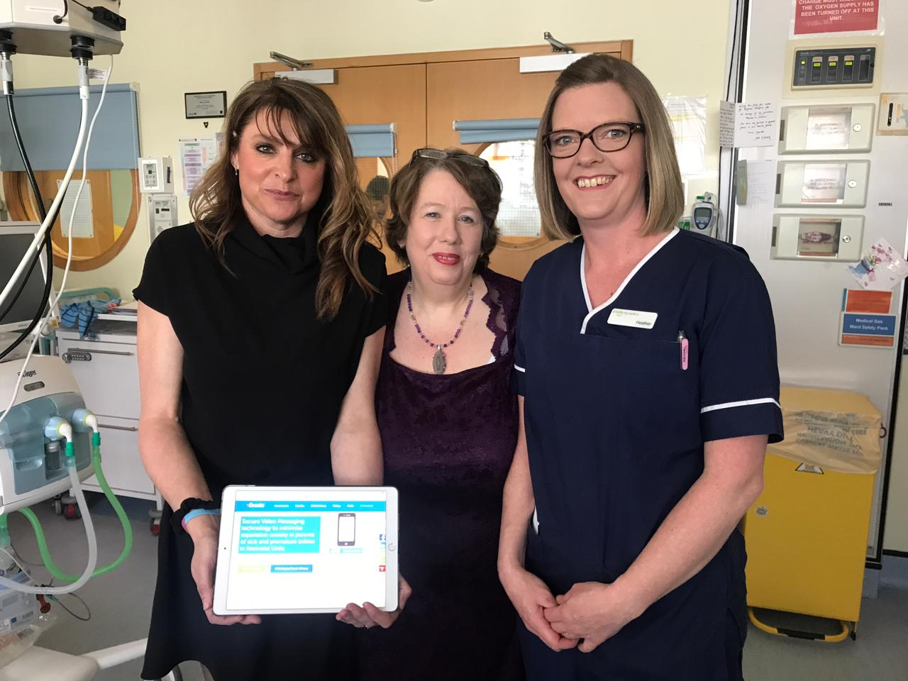 The PPBF fund innovative video technology to support parents of premature babies