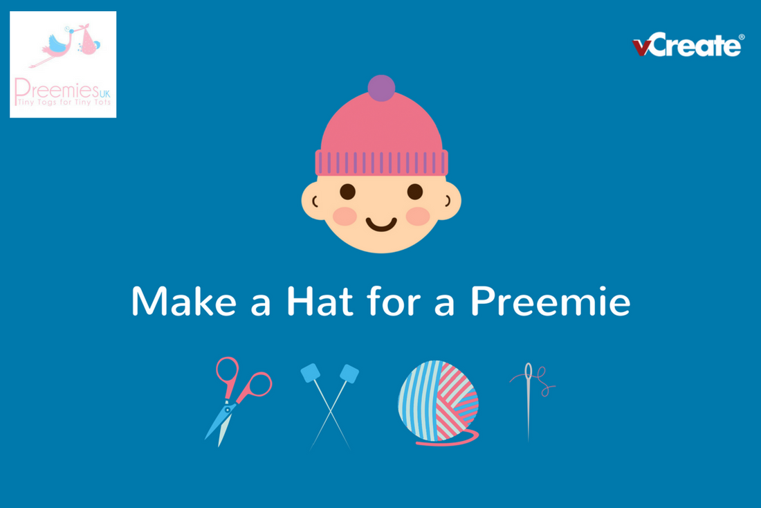 vCreate and Preemies UK Partner to Make 100 Woolly Hats for Premature Babies