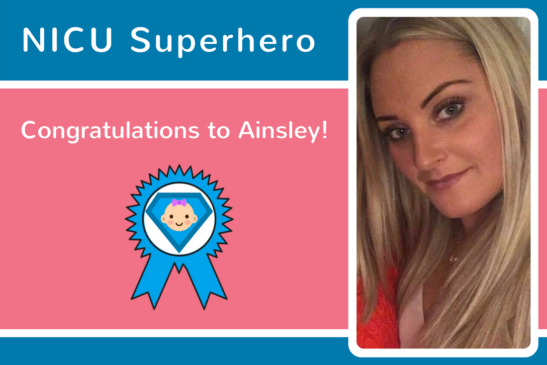 Amiee and Martin nominate Ainsley as their NICU Superhero