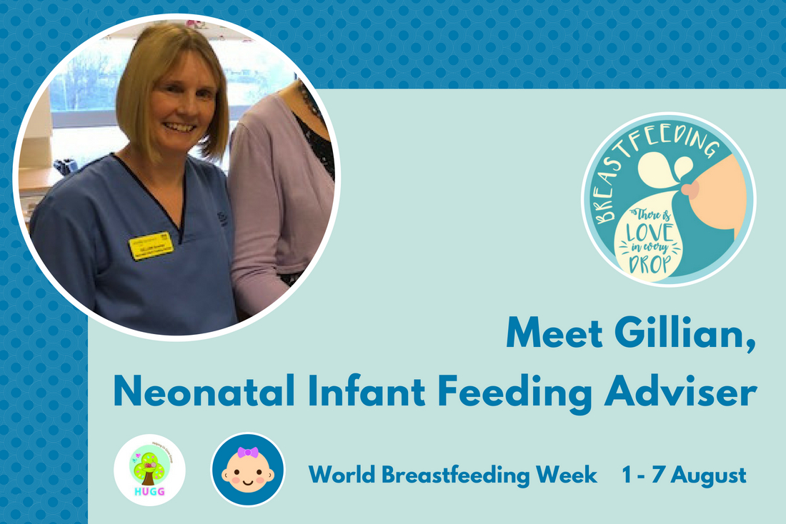Meet Gillian, Neonatal Infant Feeding Adviser for the NHS Glasgow and Greater Clyde