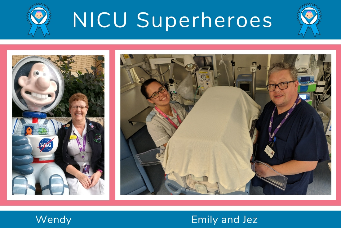 Teila's Mum shares her NICU Superheroes from Bristol!