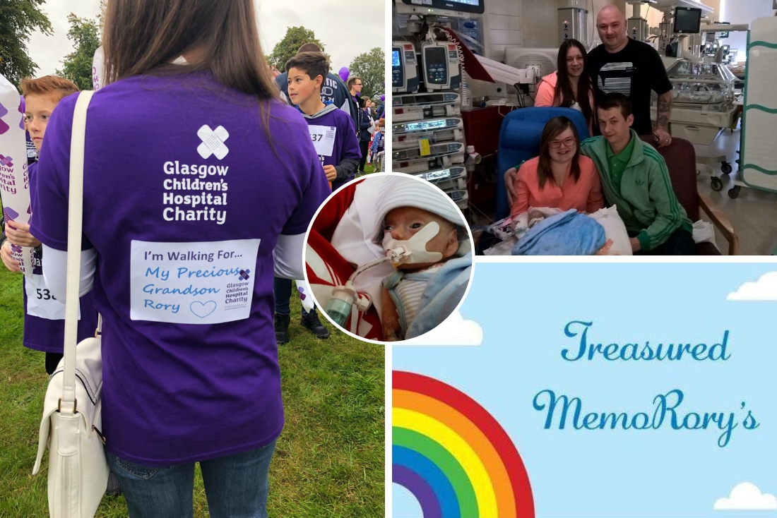 Treasured MemoRory's Continue to Support Families in Glasgow