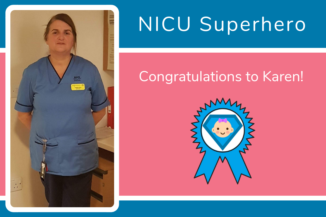 Sophia's Mum Nominates Karen as her NICU Superhero