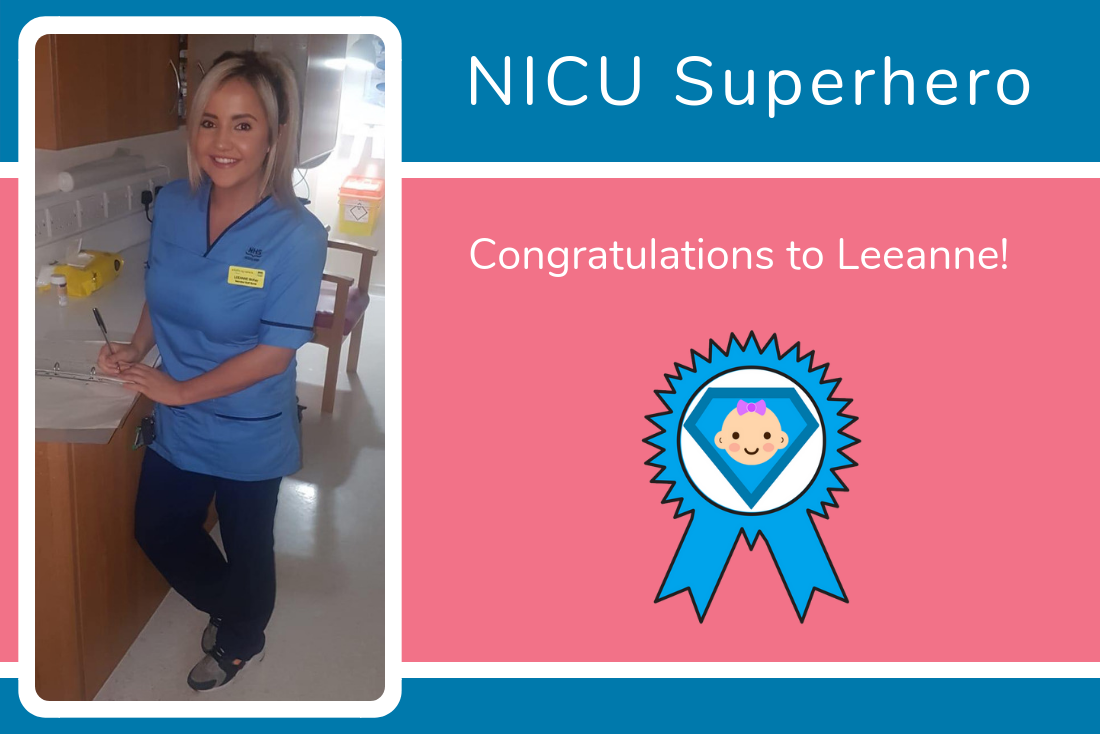 Our latest NICU Superhero has received two nominations!