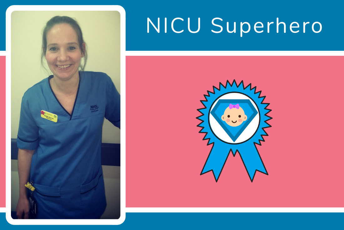 And our final NICU Superhero of 2018 is...Hazel, congratulations!