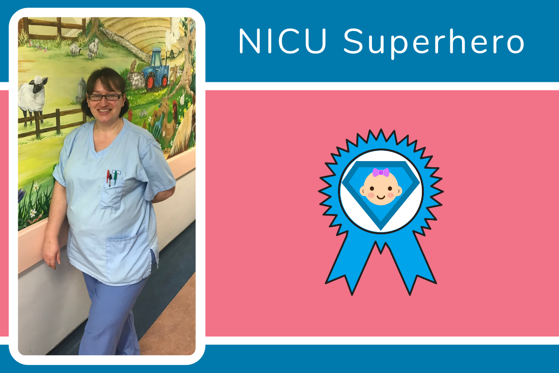 Congratulations to Milly from the Buscot Neonatal Team