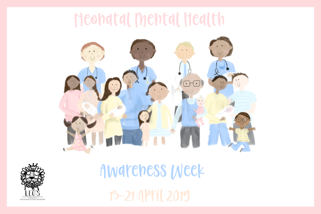 Leo's Charity Launch First Neonatal Mental Health Awareness Week