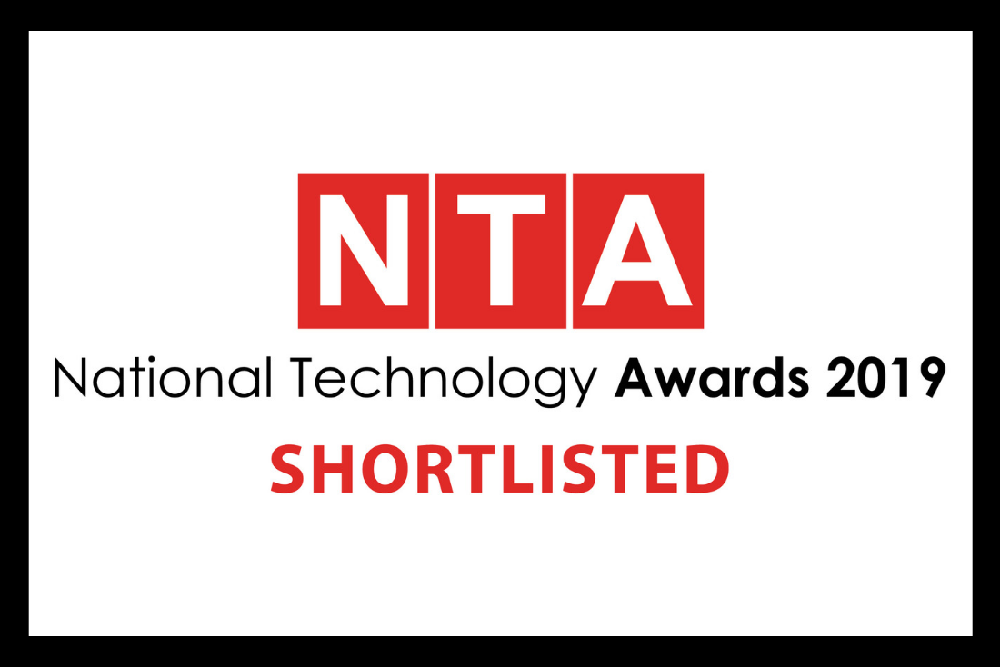 vCreate Shortlisted for Two 2019 National Technology Awards
