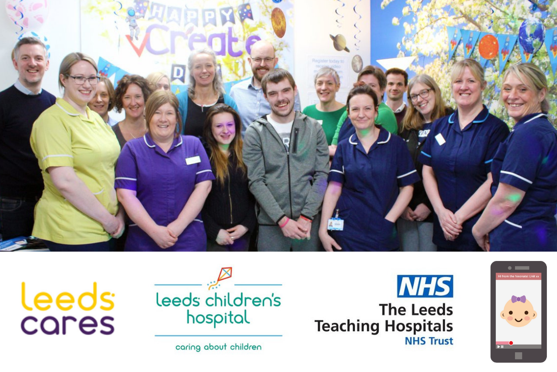 Neonatal Unit at Leeds Children's Hospital Launch Secure Video Diary