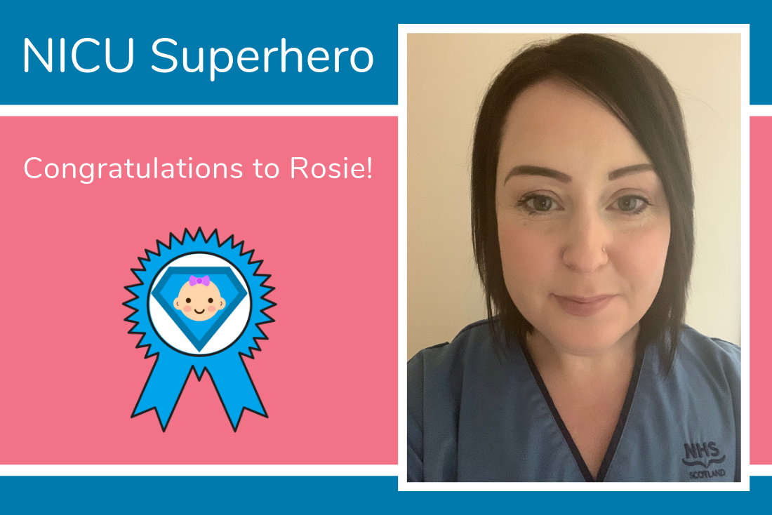 Congratulations to Rosie from Aberdeen Maternity Hospital