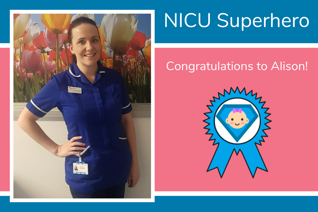 Rosie and Paul nominate Alison from Leeds as their NICU Superhero
