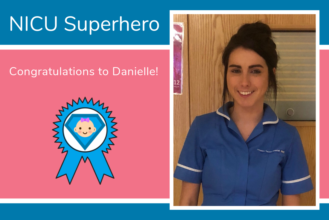 Congratulations to Danielle from the NICU at Royal Preston Hospital