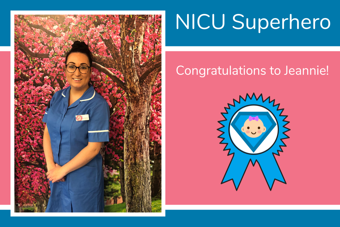 Charlotte and Ashley nominate Jeannie as their NICU Superhero