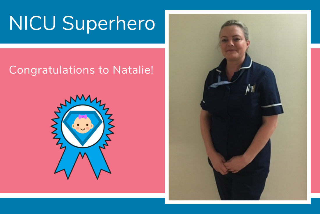 Congratulations to Natalie from the Jessop Wing NICU in Sheffield!