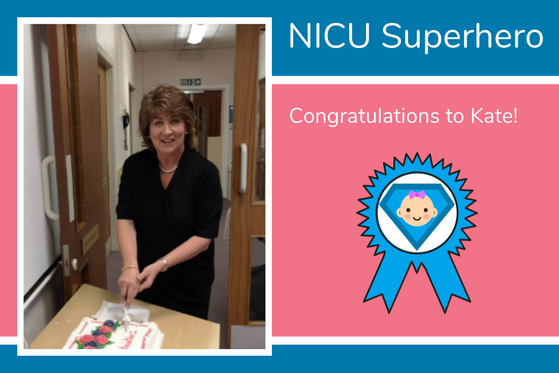 Jill thanks Kate, with a nomination for our NICU Superhero Award!