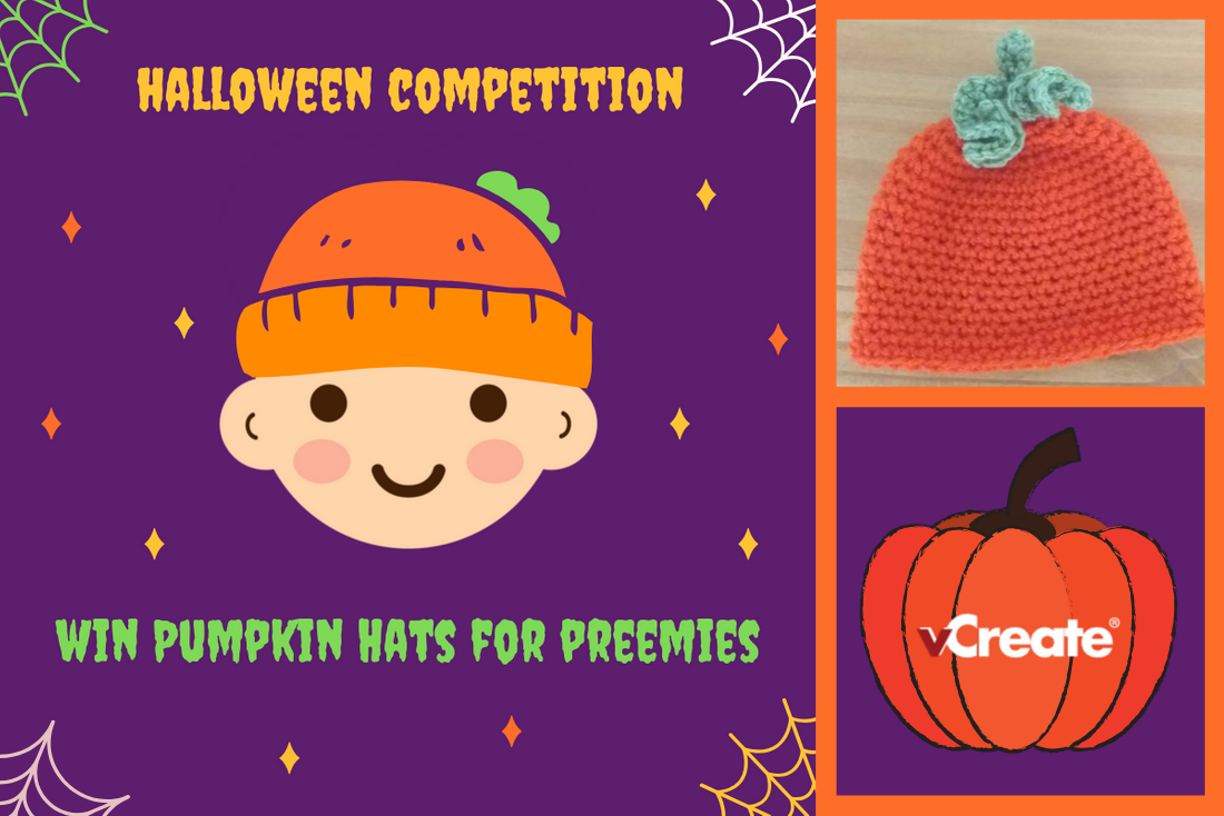 Enter our Halloween Competition and Win Pumpkin Hats for Preemies