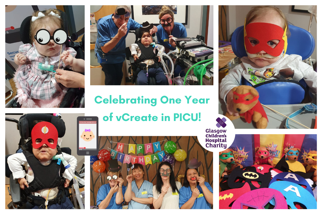 Celebrating One Year of vCreate in the PICU at RHC, Glasgow