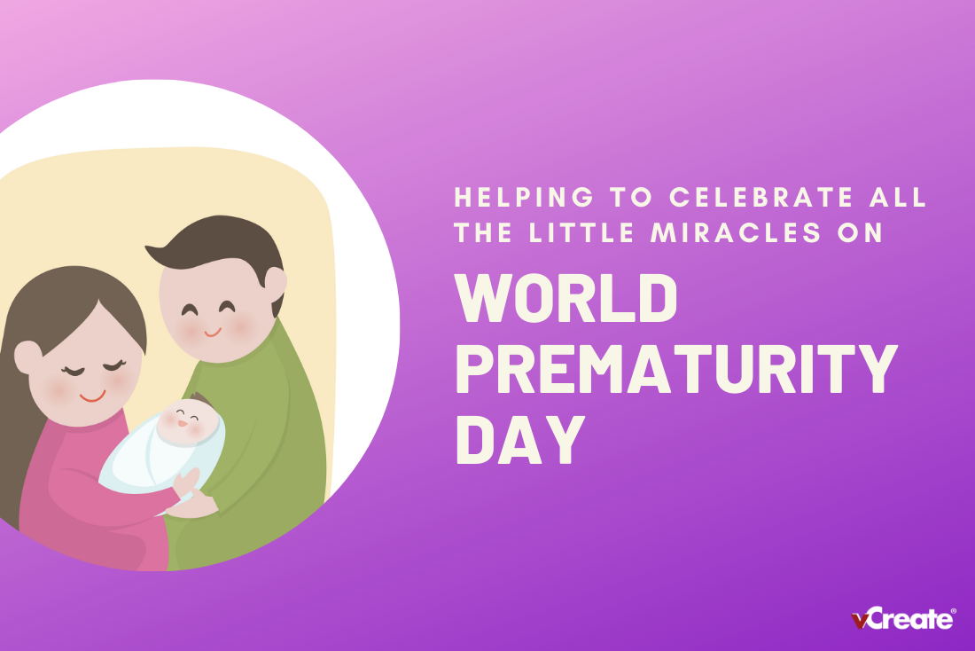 We're celebrating World Prematurity Day with a new video effect