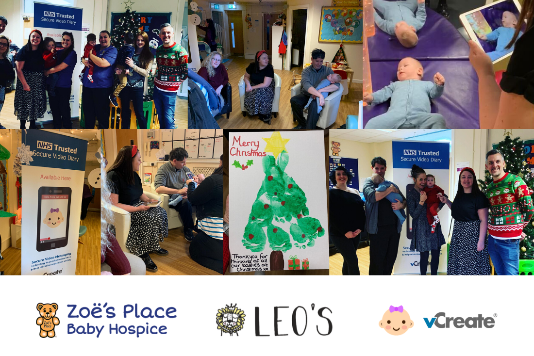 vCreate Launches at Zoë's Place Baby Hospice in Middlesbrough