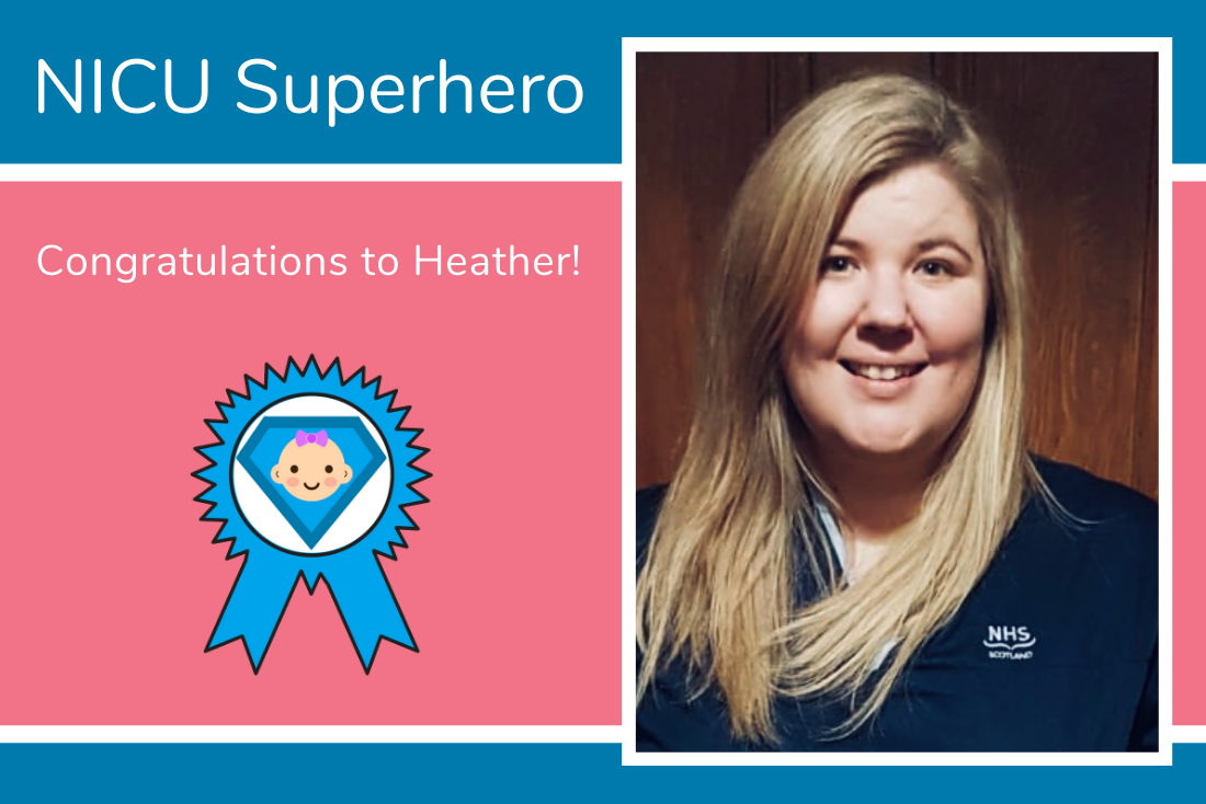 Congratulations to Heather, you are the first NICU Superhero of 2020!