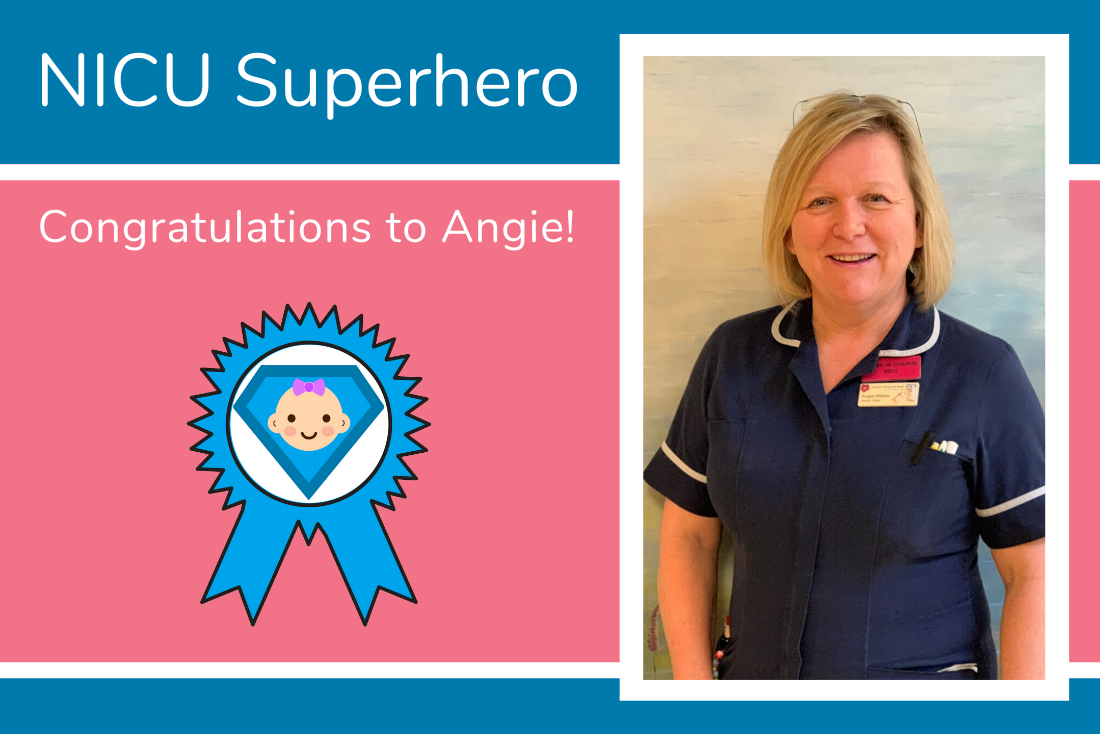 Abby nominates Angie from RUH Bath as her NICU Superhero