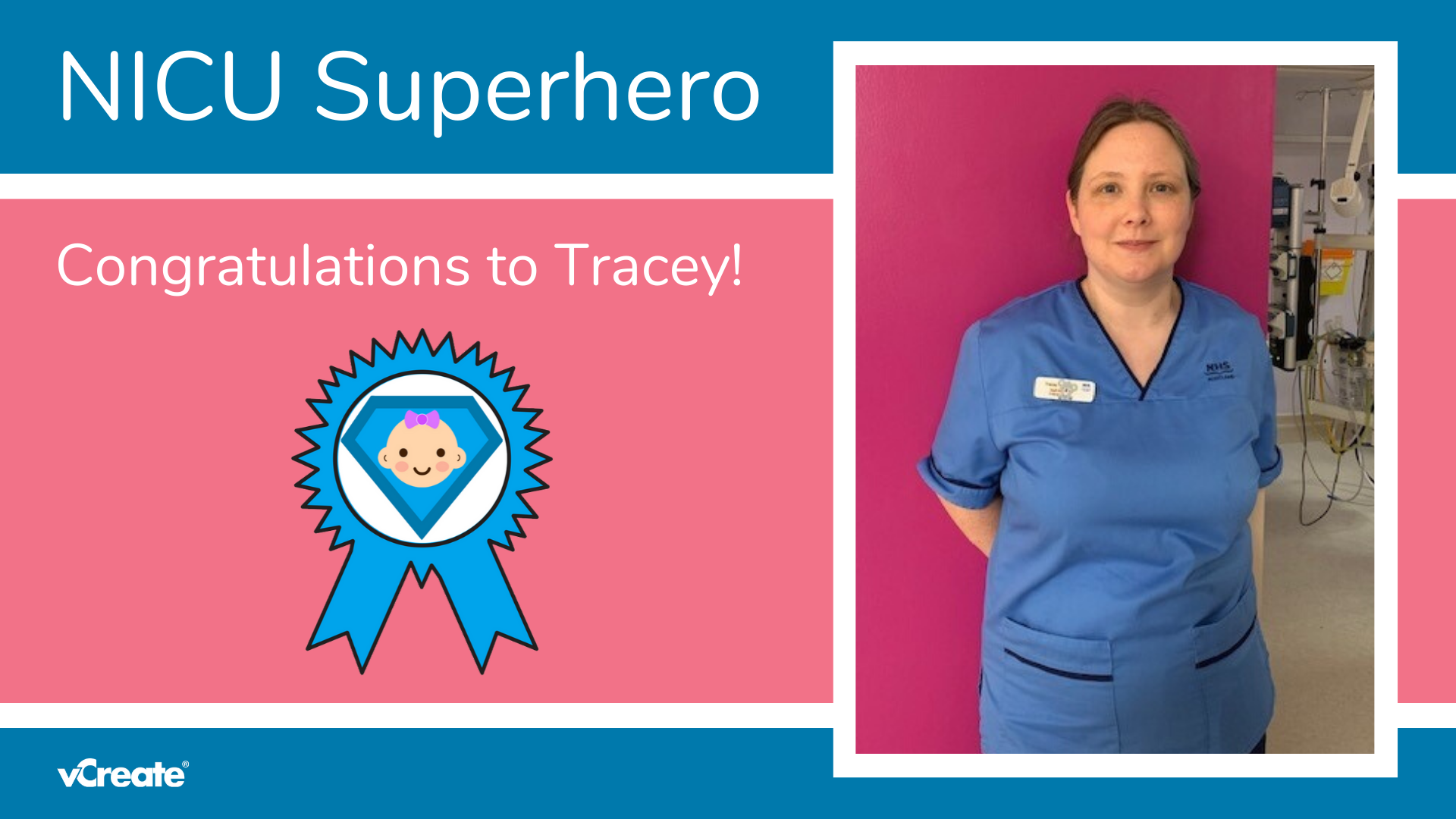 Today's NICU Superhero is Tracey from the RAH in Paisley!