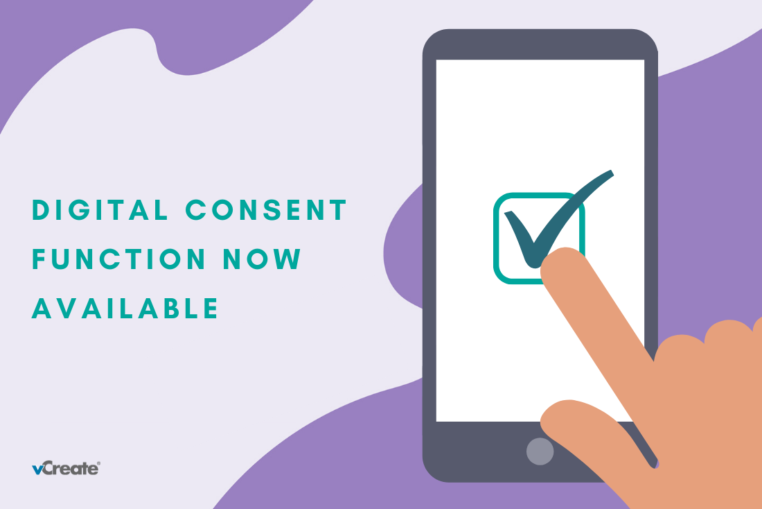 Digital Consent Function Enabled to Speed Up the Registration Process