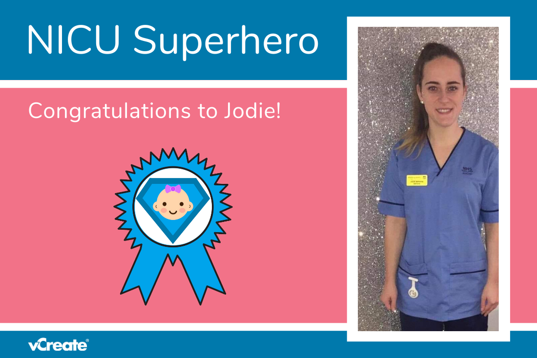 This is Jodie's Second Nomination for our NICU Superhero Award!