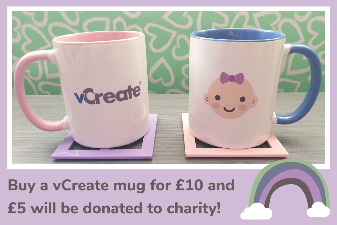 Grab Yourself a vCreate Mug and Help Support Your Hospital Charity