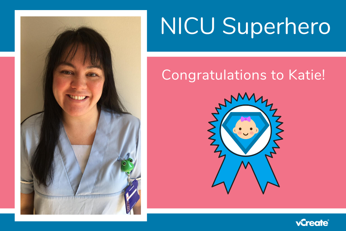 Congratulations to Katie from James Cook University Hospital!