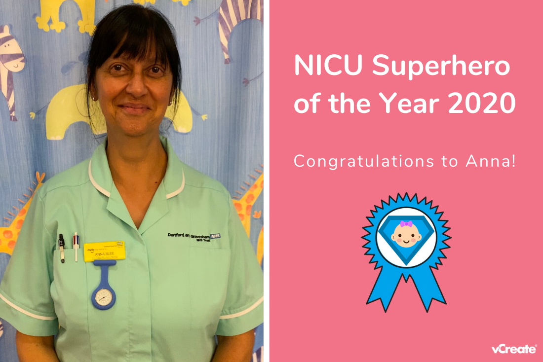 Anna from Darent Valley Hospital is Your NICU Superhero of the Year!