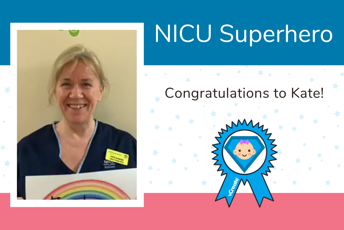 Congratulations to Kate from the Royal Hospital for Children, Glasgow