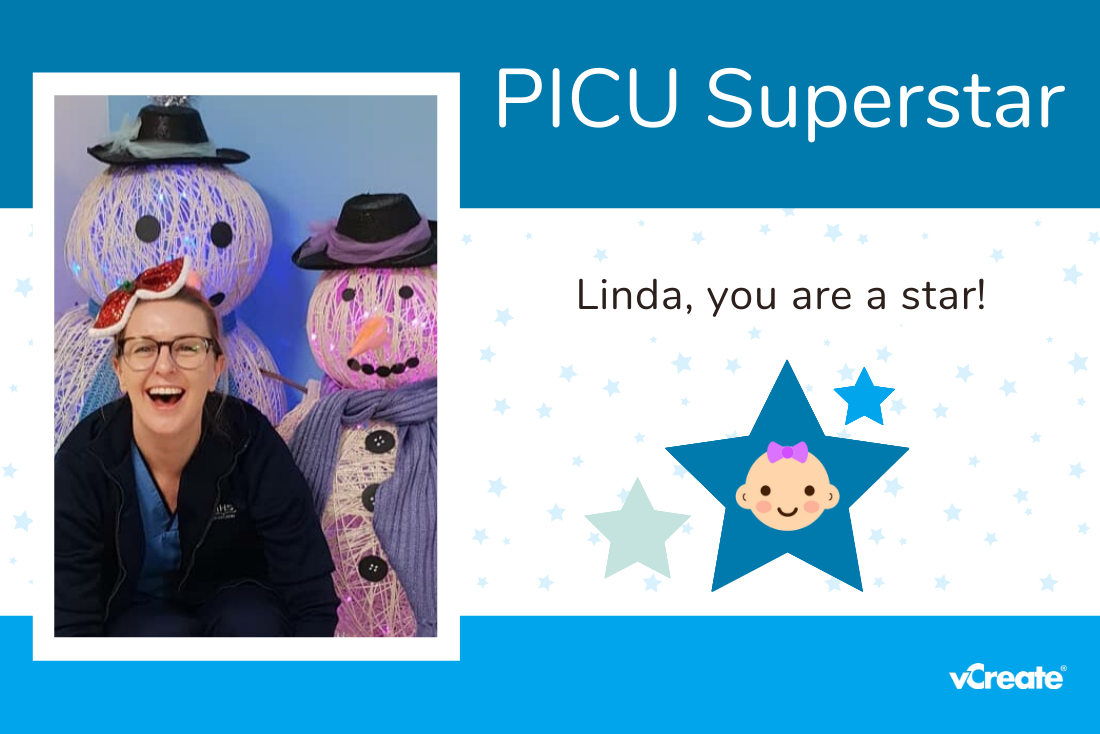 Linda from Glasgow has become your first PICU Superstar!