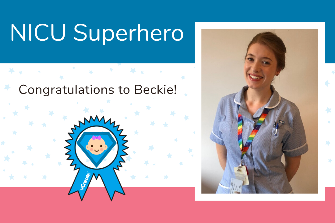 Congratulations to NICU Superhero Beckie from Gloucestershire Royal