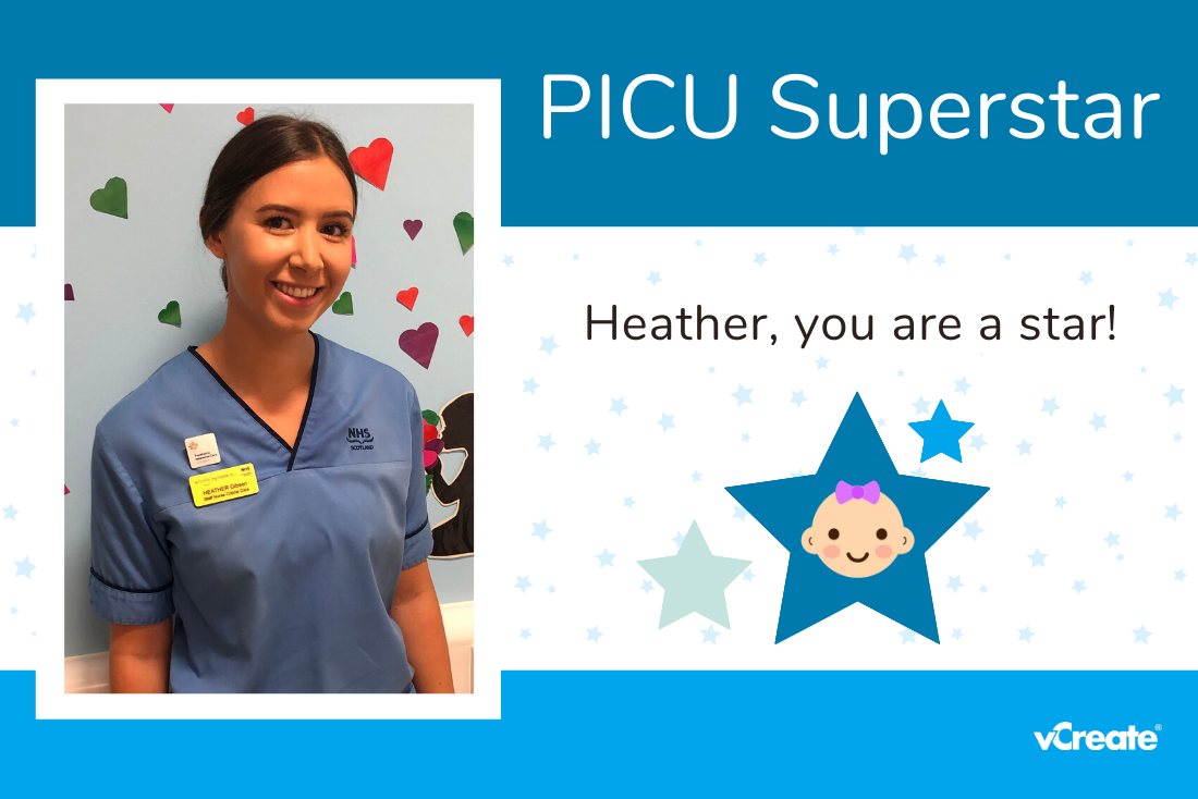 Rebecca knows two PICU Superstars, little Darci-Rae and Heather