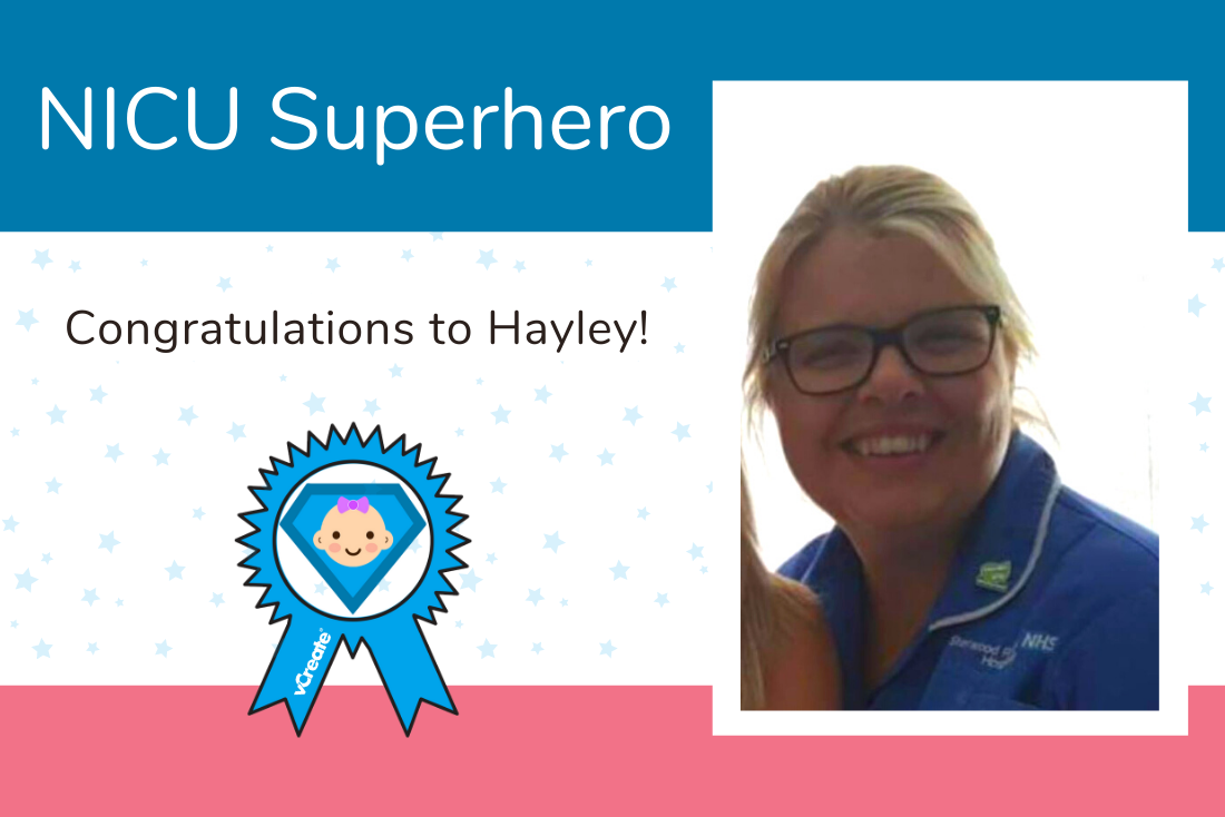 Your latest NICU Superhero is Hayley from King's Mill Hospital