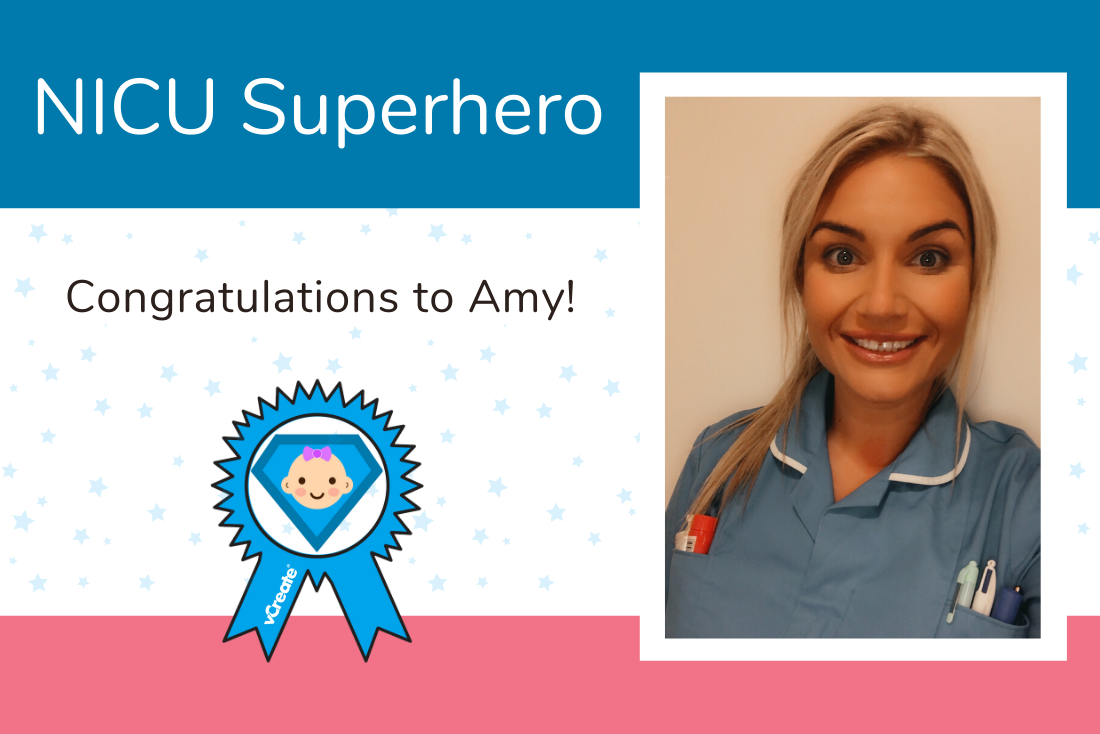 Amy from Royal Stoke University Hospital is today's NICU Superhero