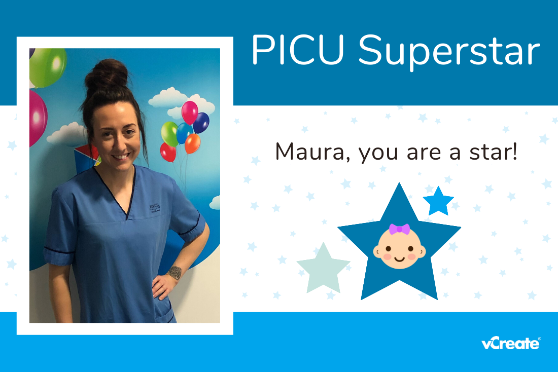 Catherine and Steven nominate Maura as their PICU Superstar