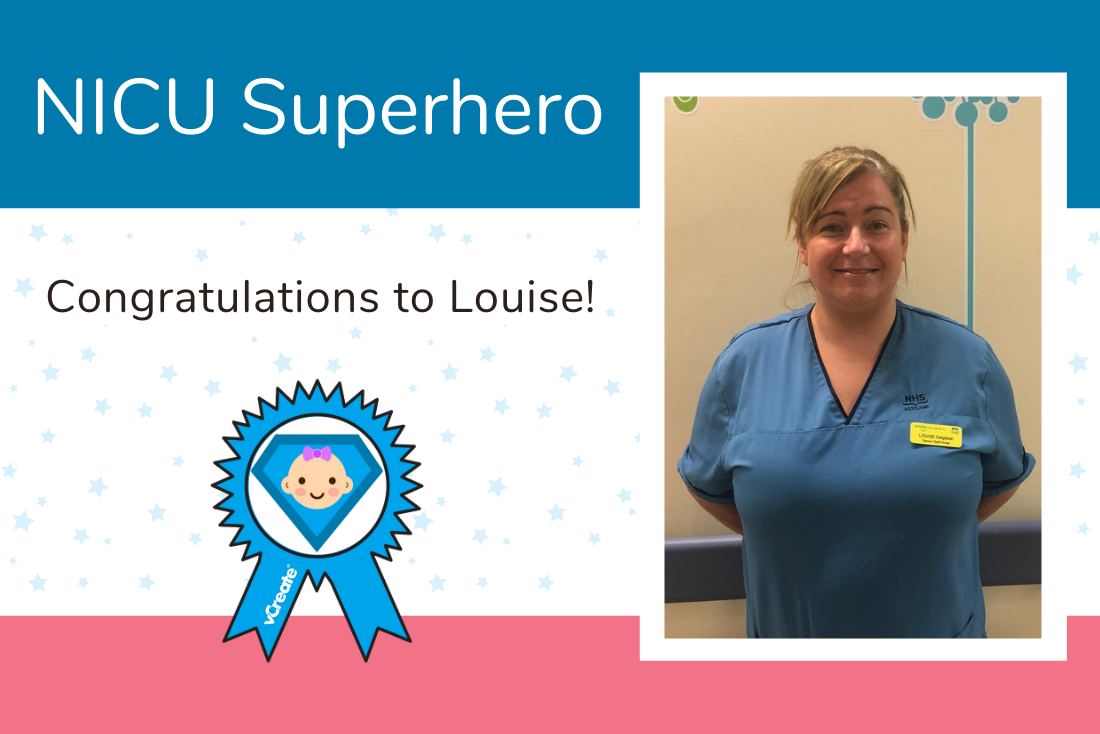 Louise from Glasgow is once again crowned a NICU Superhero!