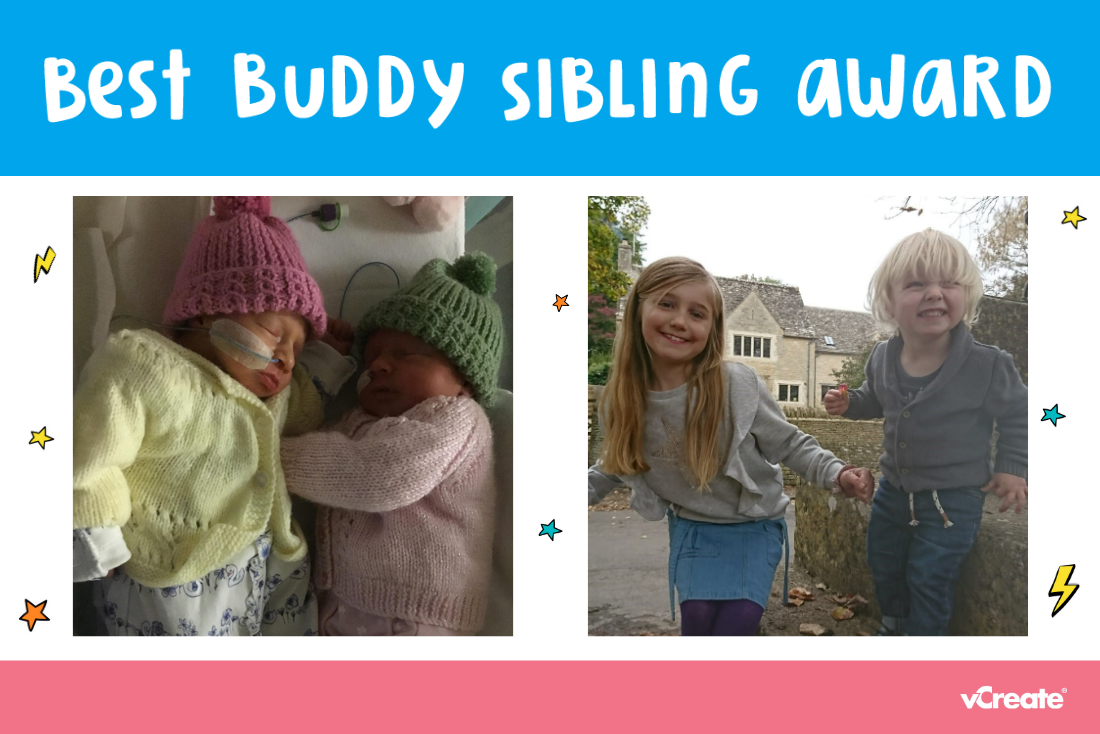 It's time to reveal the first recipients of our Best Buddy Sibling Award!