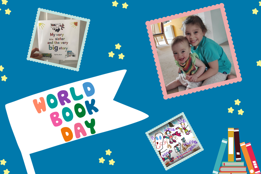 World Book Day is here and so is 5-year-old Alina's illustrated audiobook!