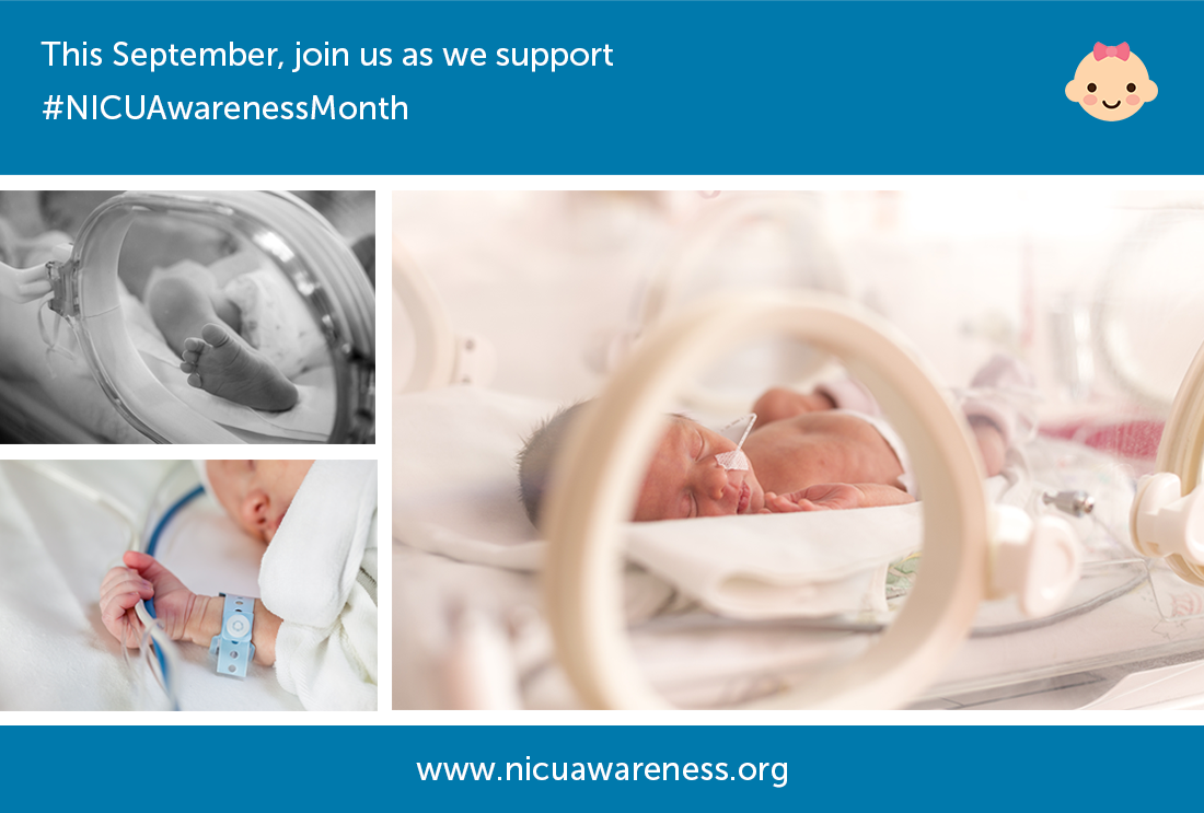 This September, join us as we support Neonatal Intensive Care Awareness Month
