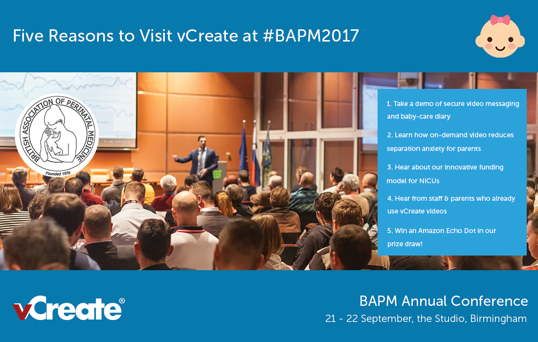 Five Reasons to Visit vCreate at BAPM