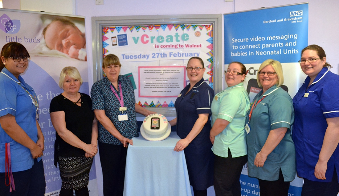 SCBU becomes first Level One in England to use video updates to connect parents and their babies