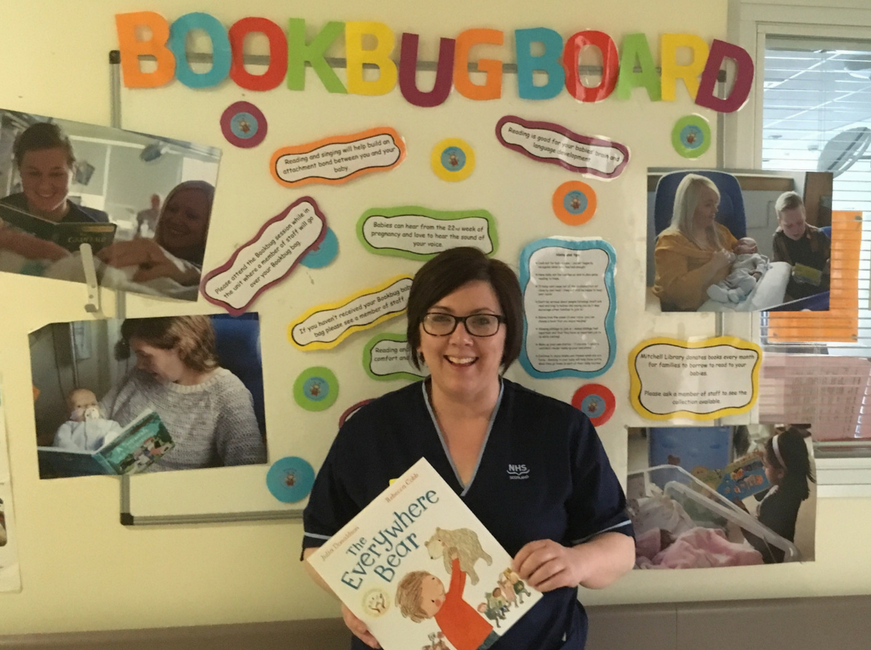 Tips for encouraging reading in the NICU from RHC Nurse Tracy Clinton